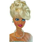 Blue Velvet Barbie By House of Cloche, 1990's Artist Doll
