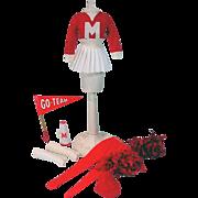 Vintage Mattel Francie Get-Ups 'N Go Cheerleading, 1973