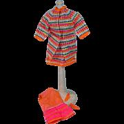 Vintage Mattel Francie Outfit, Wild 'N Wooly, 1968