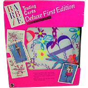 1990 Sealed in Box Mattel Deluxe Barbie Trading Cards, 1st Edition!