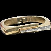Vintage Trifari Clamper Bracelet, 1970's