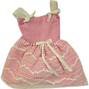 Vintage Mattel Skipper Outfit, Party Pink, 1965