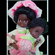 Vintage Mattel Pretty Pairs Nan 'N Fran 1970