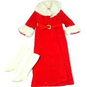 VIntage Mattel Barbie Outfit, Furry 'N Fun, 1972