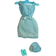 Vintage Mattel Barbie Outfit, Reception Line, 1966