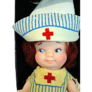 Uneeda Pee Wee Nurse Doll, 1966 w/Original Box