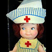 Uneeda Pee Wee Nurse Doll, 1966 w/Original Box