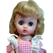 "Cosmopolitan 8"" Ginger Doll, All Original, 1956"