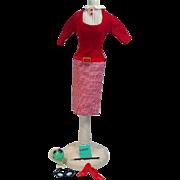 Vintage Mattel Barbie Outfit, Student Teacher, 1965
