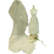 Vintage Mattel Barbie Outfit, Here Comes The Bride, 1966