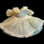 "Vintage Madame Alexander 8"" Little Genius Outfit, 1950's"