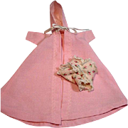 "Vintage Madame Alexander 8"" Little Genius Robe and Diaper, 1950's"