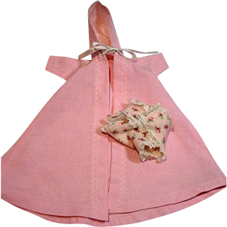 "Vintage Madame Alexander 8"" Little Genius Robe and Diaper, 1950's"
