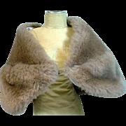 Madame Alexander Cissy Faux Fur Stole, 1950's