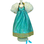 Vintage ,Mattel Barbie Outfit, Blue Royalty, from 1970