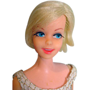 Vintage Mattel 1967 Blond Casey Doll