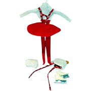 Mattel Skipper Outfit, Skating Fun, 1964