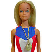 Vintage Mattel Gold Medal Olympic Barbie, 1974