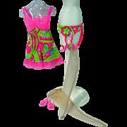 Vintage Mattel Barbie Outfit, Underliners, 1968