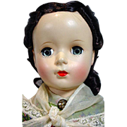 Vintage Madame Alexander Little Women, Marme Doll, 1940's