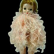 Vintage Madame Alexander Cissy Size Ostrich Feather Cape