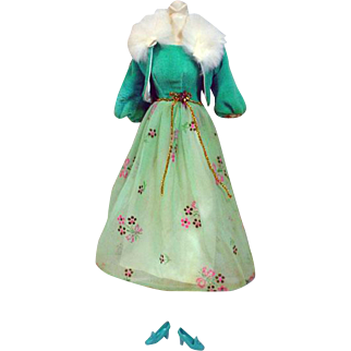Vintage Mattel Barbie Outfit, Let's Have A Ball,  1969