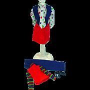 Vintage Mattel Barbie Get Ups 'n Go Airlines Outfit, 1973