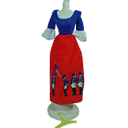 Vintage Mattel Barbie Best Buy Bicentennial Dress, 1976