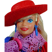 Vintage Mattel Benetton Barbie Doll, 1990