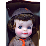 Effanbee Brownie Girl Scout Doll, 1965