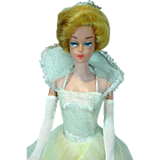 Mattel Fashion Queen Barbie Doll in Cinderella, 1964
