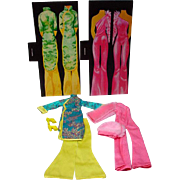 Vintage Mego Cher Outfits, 1976, Madame Chan& Pink Panther