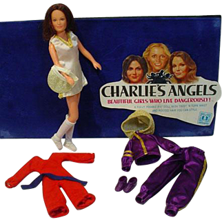 Hasbro Charlies Angels Sabrina Doll w/Clothing, 1970's