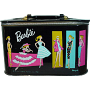Vintage Mattel Barbie Vinyl Travel Case, 1961