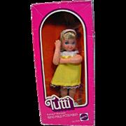 Vintage Mattel MIB Tutti Doll, 1977