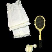 Vintage Francie Outfit, Tennis Tunic, Mattel 1969