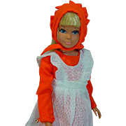 Vintage Mattel Malibu Skipper in Pants 'N Pinafore, 1970,1971