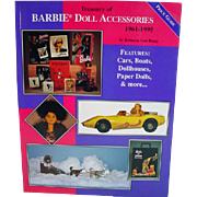 OOP Treasury of Barbie Doll Accessoires, 1961-1995 Book, Rupp