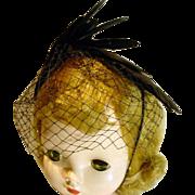 Madame Alexander Cissy Size Cocktail Hat!