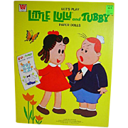 Little LuLu and Tubby Paper Dolls, 1974,Un-Cut