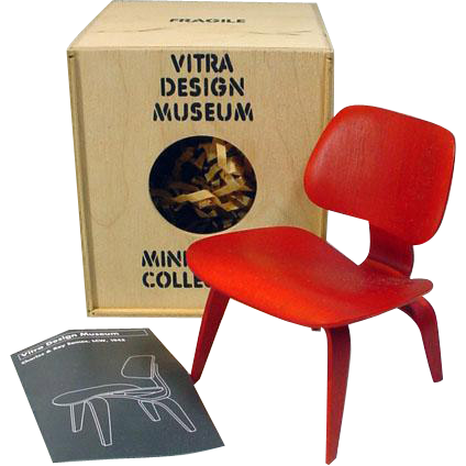 vitra design museum miniature eames chair for 12 fashion dolls from fourtyfiftysixty on ruby lane. Black Bedroom Furniture Sets. Home Design Ideas
