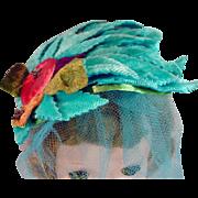 Madame Alexander Cissy Size Vintage Cocktail Hat