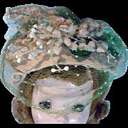 VIntage Madame Alexander Cissy Size Cocktail Hat