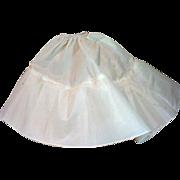 Vintage Madame Alexander Cissy Floor Length Petticoat, 1950's
