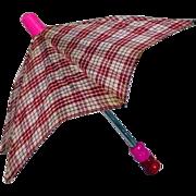 Vintage Working Doll Size Umbrella, 1950's