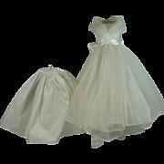 Vintage Madame Alexander Elise Bridal Gown and Underslip, 1950's