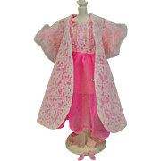 Vintage Mattel Barbie Outfit, Pink Moonbeams, 1967