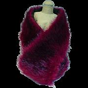 Madame Alexander Cissy Size Faux Fur Stole, 1950's