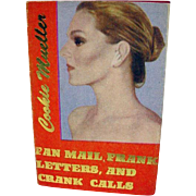 Fan Mail, Prank Letters, & Crank Calls, Cookie Mueller, Miniature Book, 1989