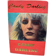 1st Edition Candy Darling, Hanuman Books, NYC, 1992
